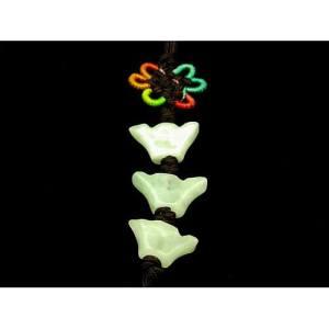 Jade Triple Ingot Tassel Lucky Amulet1