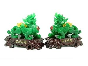 Jadeite Pi Xiu for Wealth & Protection