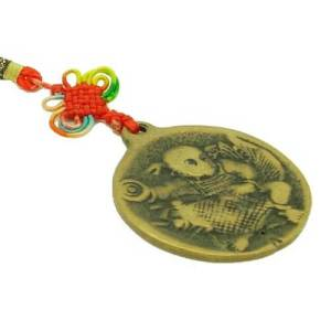 Kid with Carp Coin Amulet1