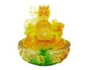 Liuli Dragon Wealth Pot Water Fountain
