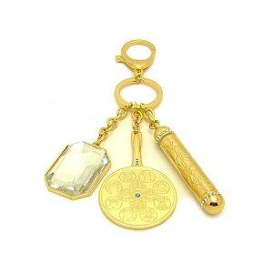 Magic Mirror Crystal Gemstone Amulet
