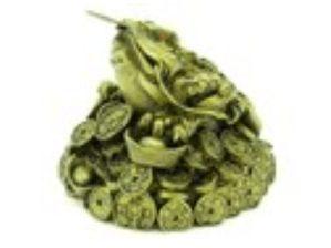 Money Frog on Mountain of Treasure