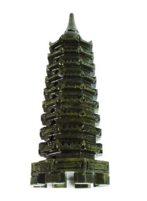 Obsidian Feng Shui Nine Level Crystal Pagoda