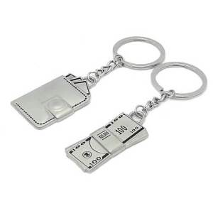 Pair of Money Wallet Key Chains1