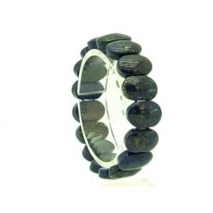 Pointed Oval Shape Lapis Lazuli Bracelet1