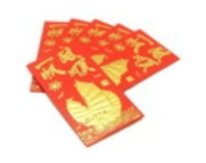 Smooth Sailing Wealth Ship Red Packets (3 Packs, 6 PcsPack)