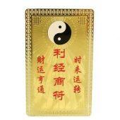 Taoist Talisman Card for Good Business Luck