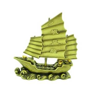 Wealth Chinese Junk Laden with Treasures1
