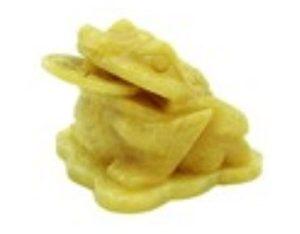 Yellow Jasper Feng Shui Money Frog