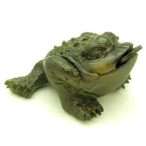 Zisha Clay Feng Shui Money Toad (M)1