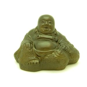 Zisha Clay Sitting Good Fortune Laughing Buddha1