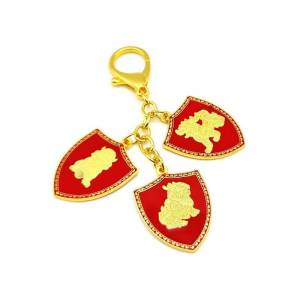 3 Celestial Shield Portable Amulet Keychain1