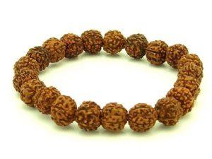 5 Faceted Rudraksha Mala 10Mm Bracelet1
