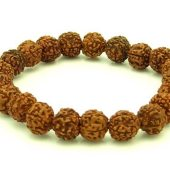 5 Faceted Rudraksha Mala 10Mm Bracelet1