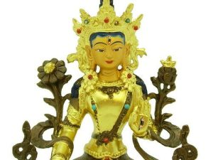 5 Inch White Tara Goddess Of Compassion1