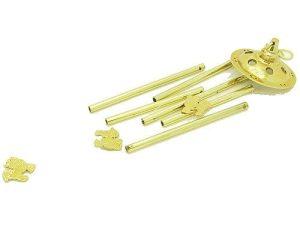 6-Rod All Metal Three Chi Lin Wind Chime1