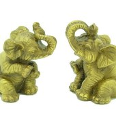 A Pair of Wish-Fulfilling Elephants1