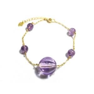 Amethyst Crystal Bracelet (High Grade)