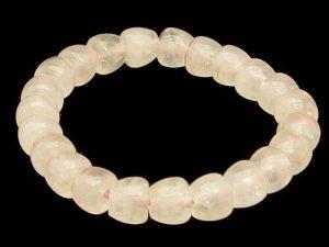 Apple Shape Rose Quartz Bracelet1
