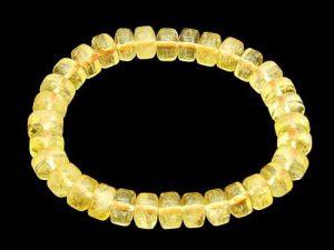 Citrine Donut Shape Bracelet1