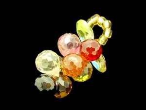 Cluster Of Grapes Crystal Pendant1
