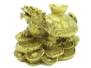 Dragon Tortoise With Gold Ingot (S)1
