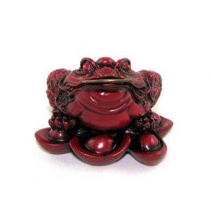 Feng Shui Money Frog on Ingots - Three Legged Toad1