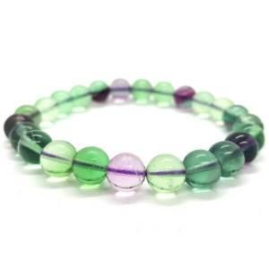 Fluorite Crystal Bracelet A 萤石1