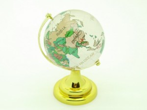 Glass Globe For Education Luck1