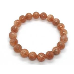 High Grade Golden Strawberry Quartz Bracelet - 草莓晶1