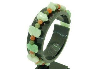 Jade 12 Zodiac With 5Mm Multicolor Rutilated Bracelet1