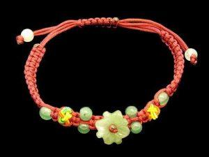 Jade Flower Blossom Bracelet1