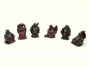 Mini Laughing Buddha (Set of 6)1