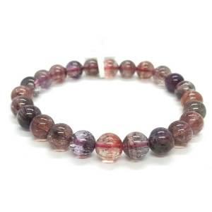 Top Grade Super Seven Gemstone Bracelet (7.5mm) 超7水晶1