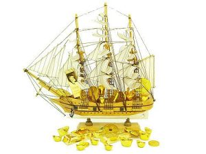 Wealth Sailing Ship For Wealth Accumulation (L)1