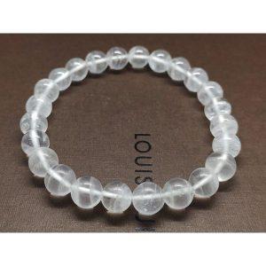 White Phantom Quartz Bracelet 8.25mm - 白幽灵1