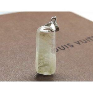 White Phantom Quartz Crystal Pendant - 白幽灵1
