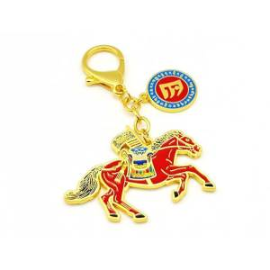 Windhorse Success Amulet Feng Shui Keychain1