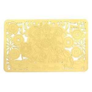 gold talisman card