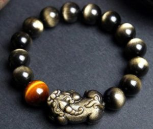 The Feng Shui Pixiu Bracelet is a popular amulet to attract wealth and fortune.