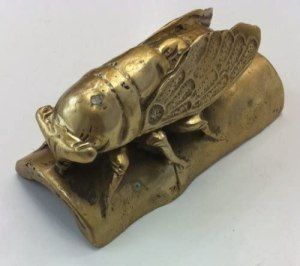The Brass Cicada for Protection is perfect to protect you from unfaithful friends, scheming bosses, jealous colleagues, and competitors.