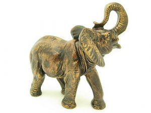 The elephant is thus the symbol of strength, intelligence, prudence, and wisdom – all qualities of a capable leader.