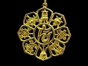 golden_eight_auspicious_objects_key_chain_3