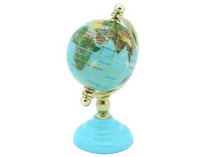 turquoise_color_world_globe_for_education_luck