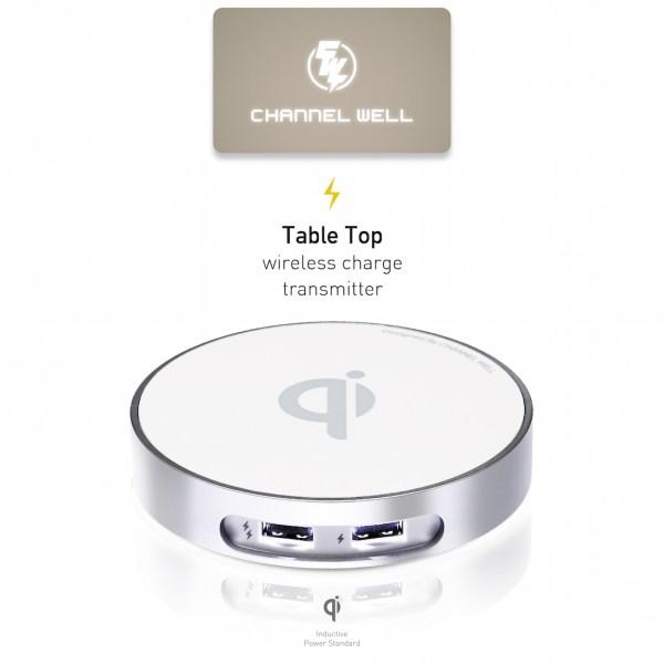 僑威雙USB孔無線充電器 告別桌面雜亂的線材 - 01.FirstImage 01