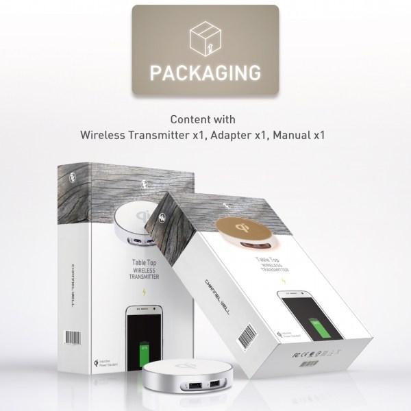 僑威雙USB孔無線充電器 告別桌面雜亂的線材 - 08.Packaging 01
