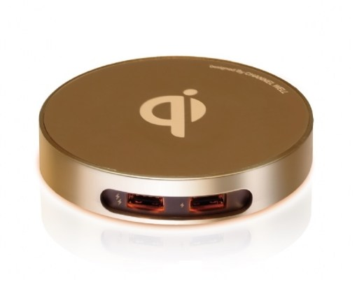 僑威雙USB孔無線充電器 告別桌面雜亂的線材 - 20160531000245 1