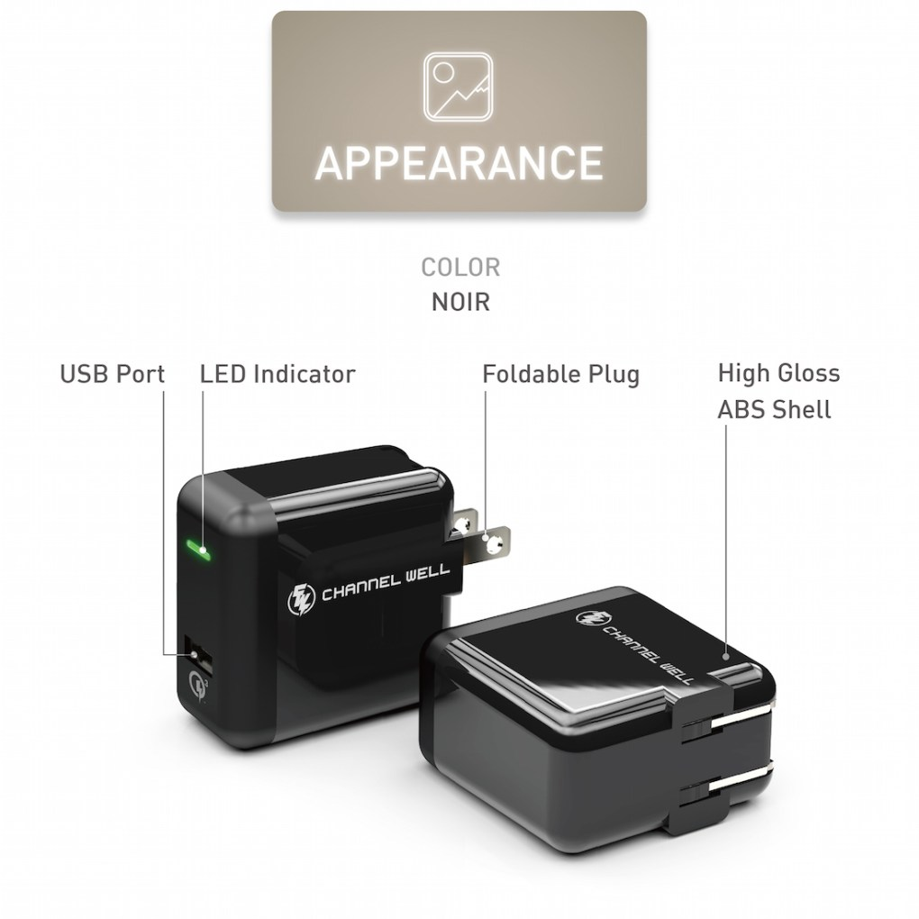 僑威 QC 3.0 快速充電器 充電速度提高 80%! - QC3.0 USB Wall Charger White 06