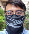 brise-頭巾-黑