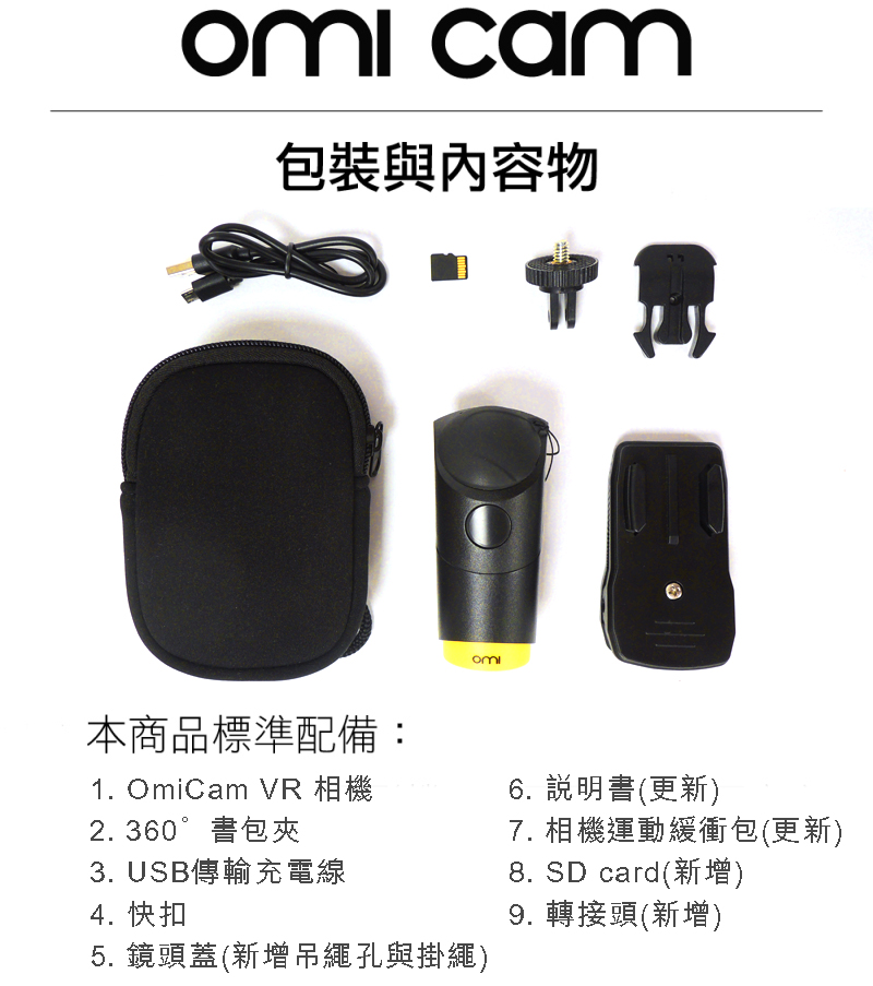 OmiCam 穿戴式VR全景攝影機 - i010014 1524729960 revise